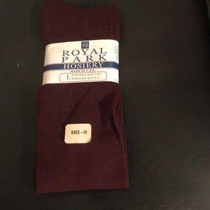 Royal Park Knee High Socks